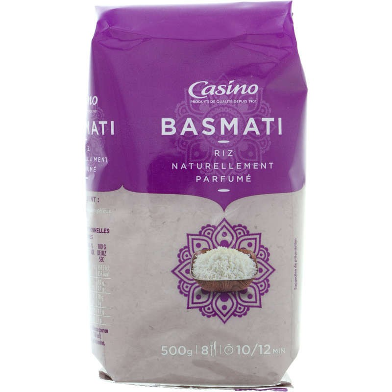 CASINO Riz basmati long grain 500g