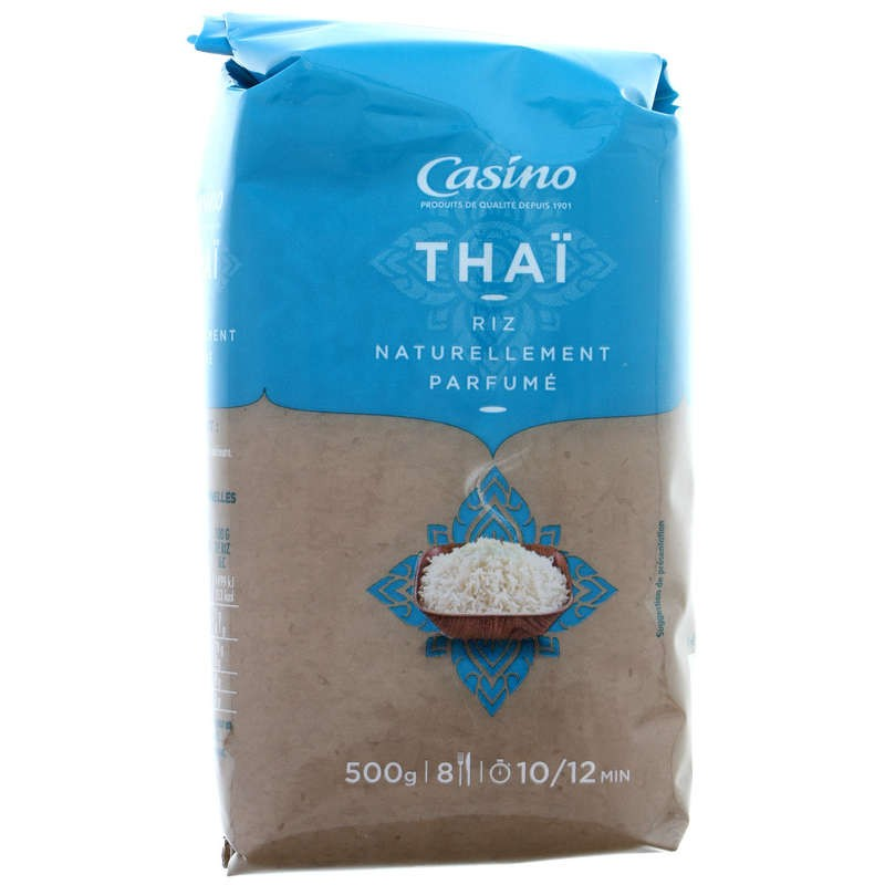 CASINO Riz Thaï long grain 500g