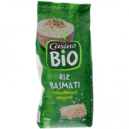 CASINO BIO Riz Basmati naturellement parfumé bio 500g