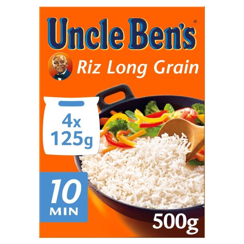 UNCLE BEN'S Riz sachet cuisson 10min 500g
