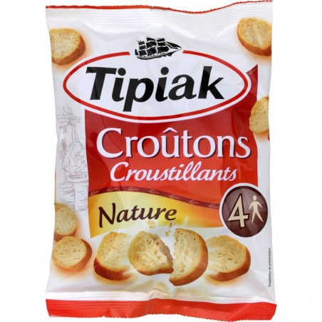 TIPIAK Croûtons nature croustillants 90g