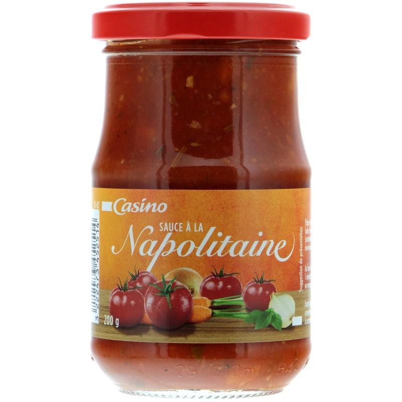 CASINO Sauce napolitaine 200g