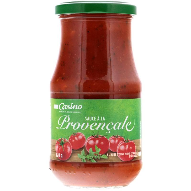 CASINO Sauce Provençale à l'huile d'olive vierge extra 1