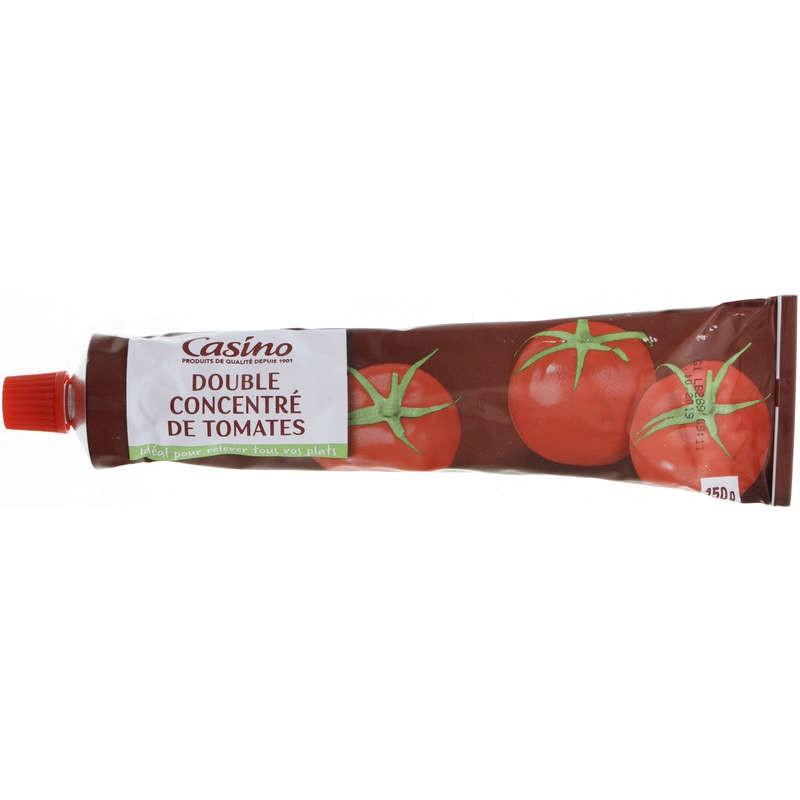 CASINO Double concentré de tomates 150g