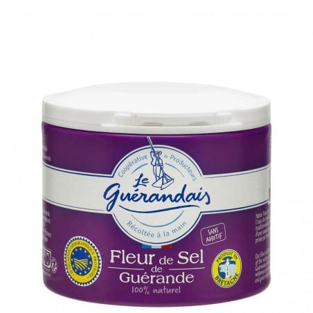 LE GUERANDAIS Fleur de sel de guérande 125g