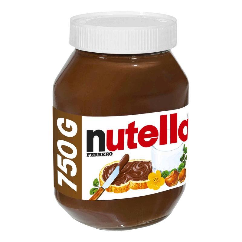 FERRERO Pâte à tartiner Nutella 750g