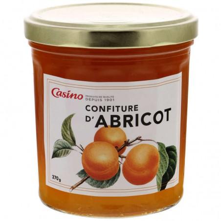 CASINO Confiture d'abricots 370g
