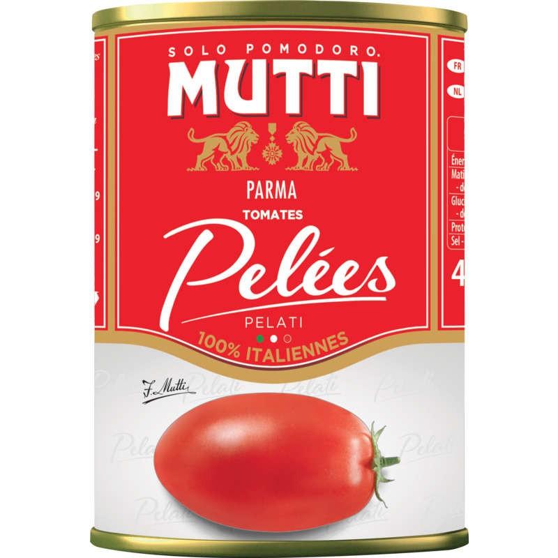 MUTTI Tomates entières pelées 400g