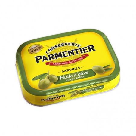 PARMENTIER Sardines à l'huile d'olive 135g