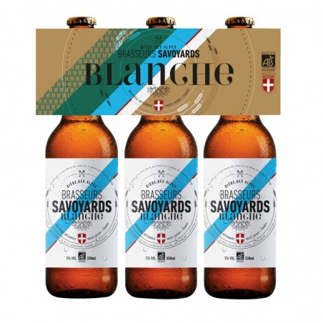 Brasseurs Savoyards Bière Blanche 5° Bio 3x33cl