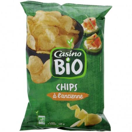 CASINO BIO Chips à l'ancienne Bio 125g