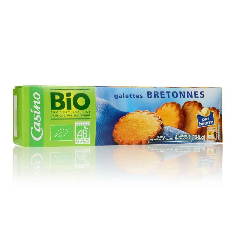 CASINO BIO Galettes bretonnes Bio 125g