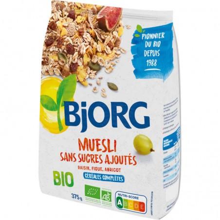 BJORG Muesli sans sucre ajouté Bio 375g