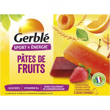 GERBLE Pâte de fruits 162g