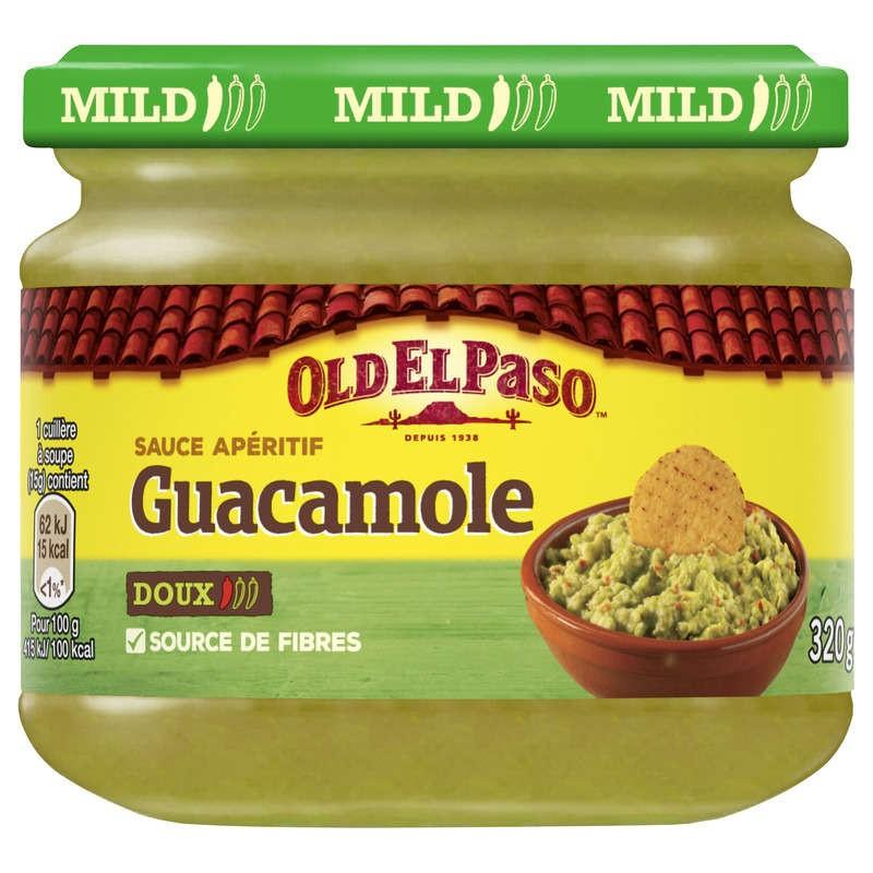 OLD EL PASO Sauce apéritif Guacamole doux 320g