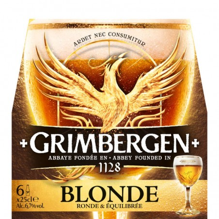 GRIMBERGEN Bière blonde 6