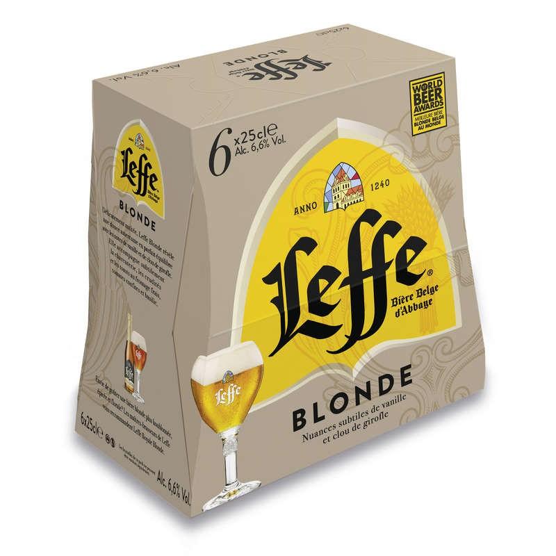 LEFFE Bière blonde 6