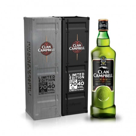 CLAN CAMPBELL Blended Scotch Whisky 40° 70cl