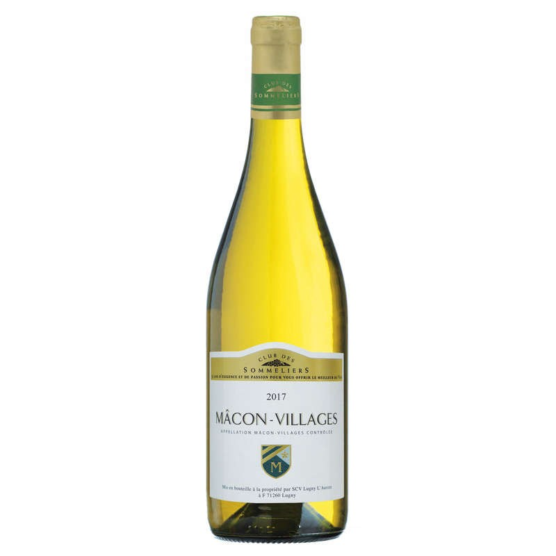 CLUB DES SOMMELIERS Macon Villages Blanc 75cl