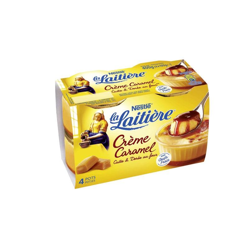 NESTLE La Laitière - Crème caramel 4x100g