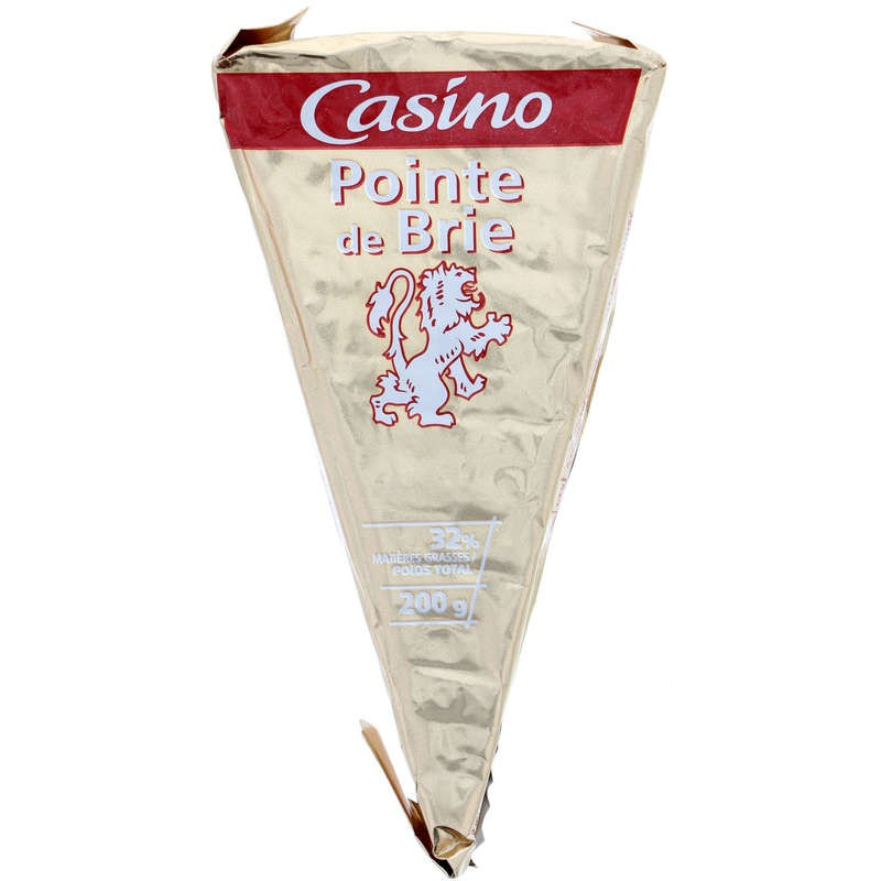 CASINO Pointe de Brie 200g