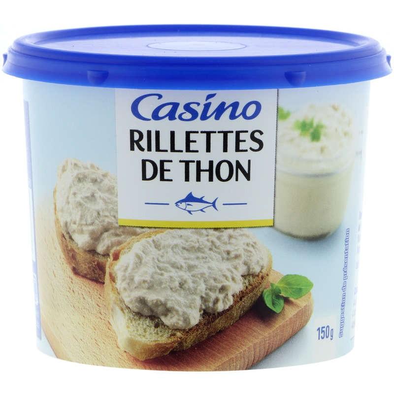 CASINO Rillettes de thon 150g