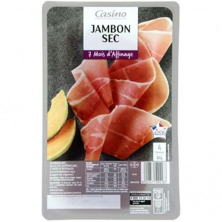 CASINO Jambon sec 80g