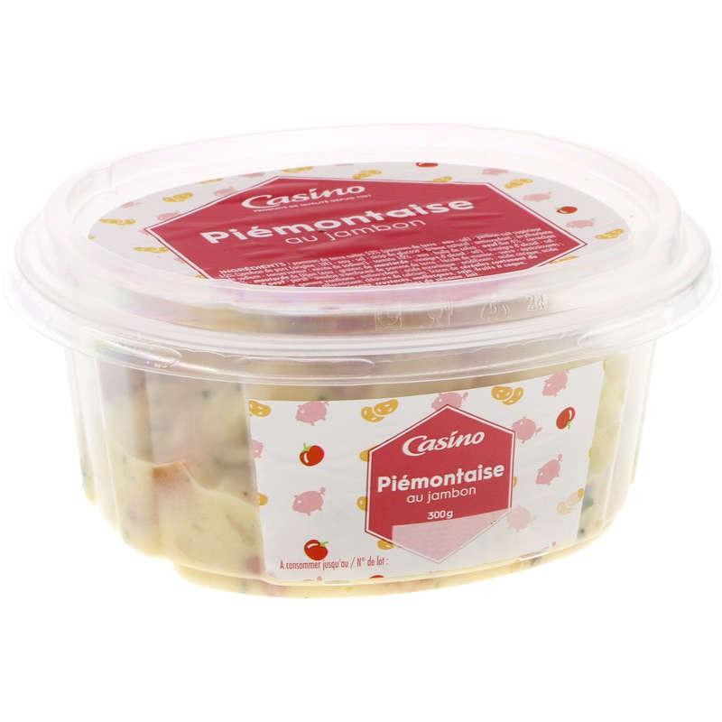 CASINO Piémontaise au jambon 300g