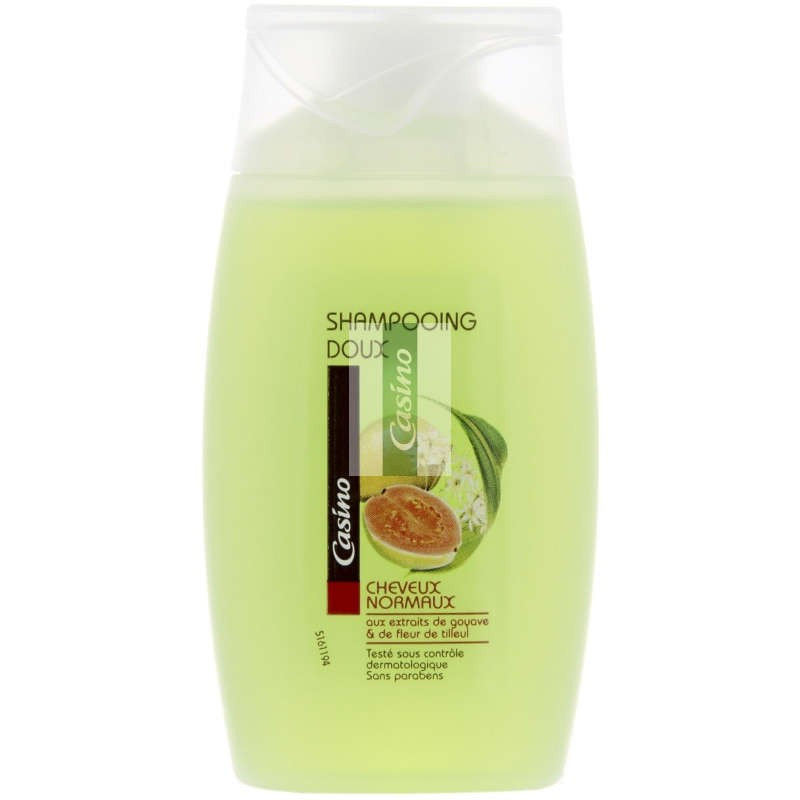 CASINO Shampooing doux cheveux normaux 100ml