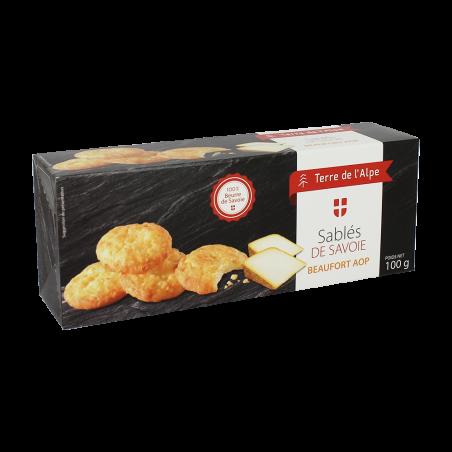 Biscuits au Beaufort Le paquet de 100g TERRE DE L'ALPE